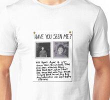 STRANGER THINGS - Will Byers Missing Poster Unisex T-Shirt