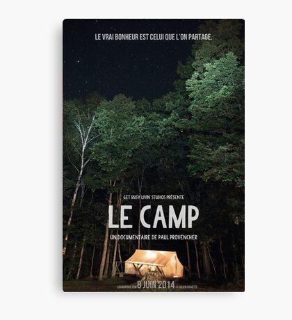 Affiche // Le Camp Canvas Print