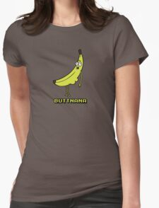Buttnana Womens Fitted T-Shirt