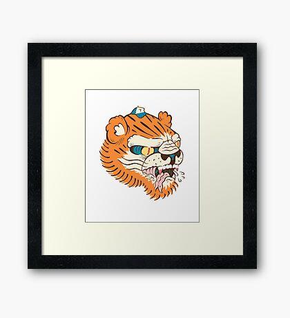 Toni the Tiger Framed Print