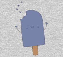 Blueberry Popsicle Kids Tee
