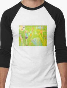 Sea People Men's Baseball ¾ T-Shirt