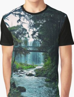 » Just let go - and fall like a little waterfall Graphic T-Shirt