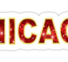 Chicago Musical Sticker