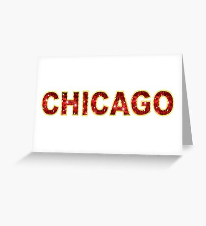 Chicago Musical Greeting Card