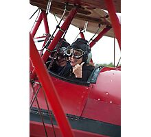 Pilot Says We're Ready ! Photographic Print