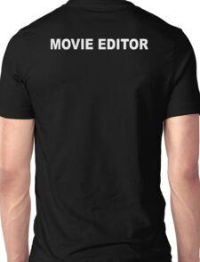 Movie Editor T-Shirt Unisex T-Shirt