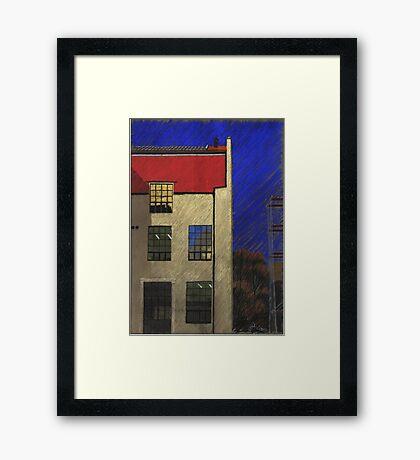 Bauhaus-Uni Weimar in Germany Framed Print