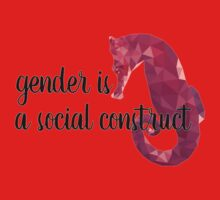 Gender is a Social Construct Kids Tee