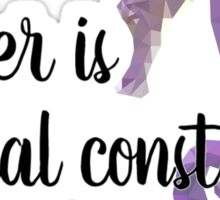 Gender is a Social Construct Sticker