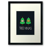 TREE NINJAS Framed Print