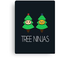 TREE NINJAS Canvas Print