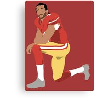 I'll take a knee with Kap Canvas Print