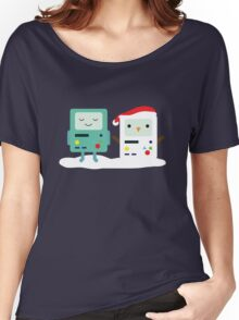 Building SnowMO (Red) Women's Relaxed Fit T-Shirt