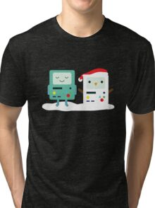 Building SnowMO (Red) Tri-blend T-Shirt