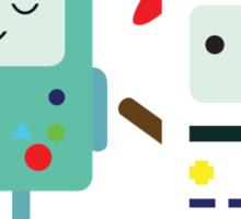 Building SnowMO (Red) Sticker
