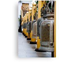 Temple Bells Canvas Print
