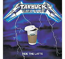 Ride The Latte Photographic Print