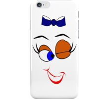 Face  :-Wink (5284 Views) iPhone Case/Skin