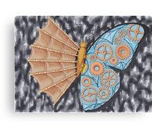 Schmetterling Evolution Canvas Print