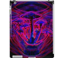 Neon Shrooms iPad Case/Skin