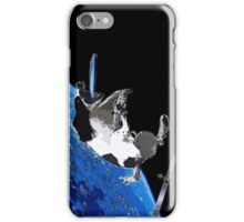 Outer Space Frisbee Dog iPhone Case/Skin