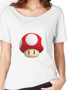 mario mushroom Women's Relaxed Fit T-Shirt