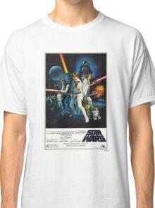 star wars poster Classic T-Shirt