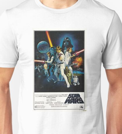 star wars poster Unisex T-Shirt