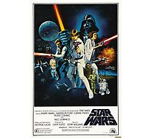 star wars poster Photographic Print