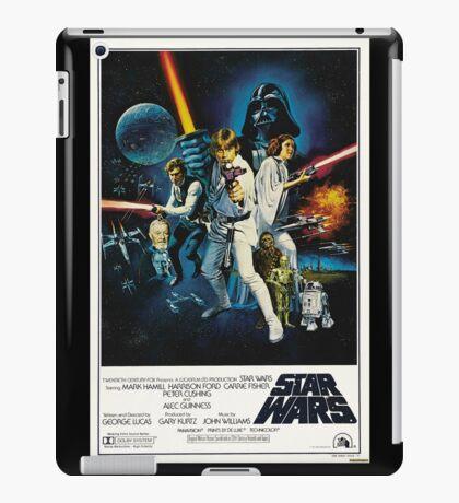 star wars poster iPad Case/Skin
