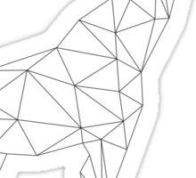 Geometric Giraffe Sticker