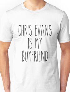 Chris Evans is my boyfriend Unisex T-Shirt