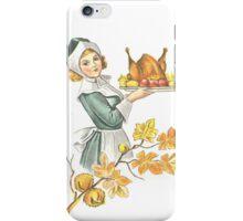 Victorian Thanksgiving 6 iPhone Case/Skin