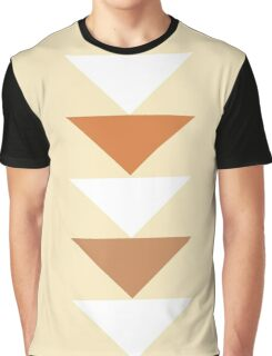 Cream Composition Graphic T-Shirt