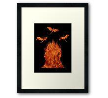 Dragons' Throne Framed Print