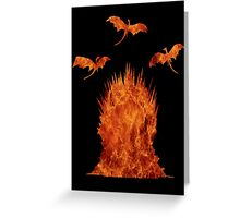 Dragons' Throne Greeting Card