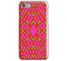 Different abstract colorful pattern iPhone Case/Skin
