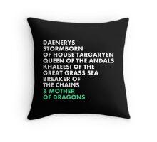 Daenerys Throw Pillow