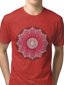 CHERRY MANDALA Tri-blend T-Shirt