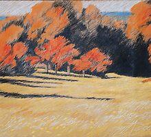 Kupfer Wald by HannaAschenbach