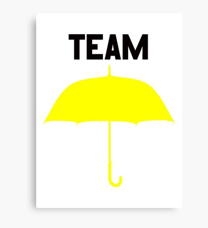 Team Yellow Umbrella – Mother, Ted, HIMYM Canvas Print