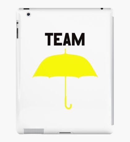 Team Yellow Umbrella – Mother, Ted, HIMYM iPad Case/Skin