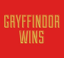 GRYFFINDOR WINS Kids Clothes