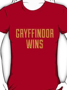 GRYFFINDOR WINS T-Shirt