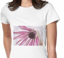 Pink Gazania Womens Fitted T-Shirt