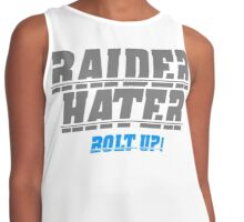 RAIDER HATER SILVER - BOLT UP! Contrast Tank