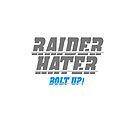 RAIDER HATER SILVER - BOLT UP! by joebugdud