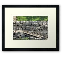 More Bricks In The Wall Framed Print