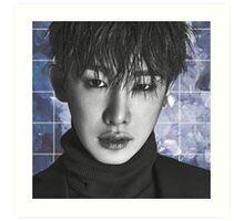 Wonho Art Print
